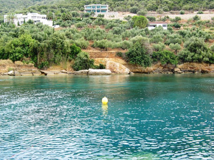 Yellow buoy #Kalamata #Greece