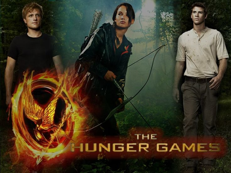 Peeta, Katniss, and Gale