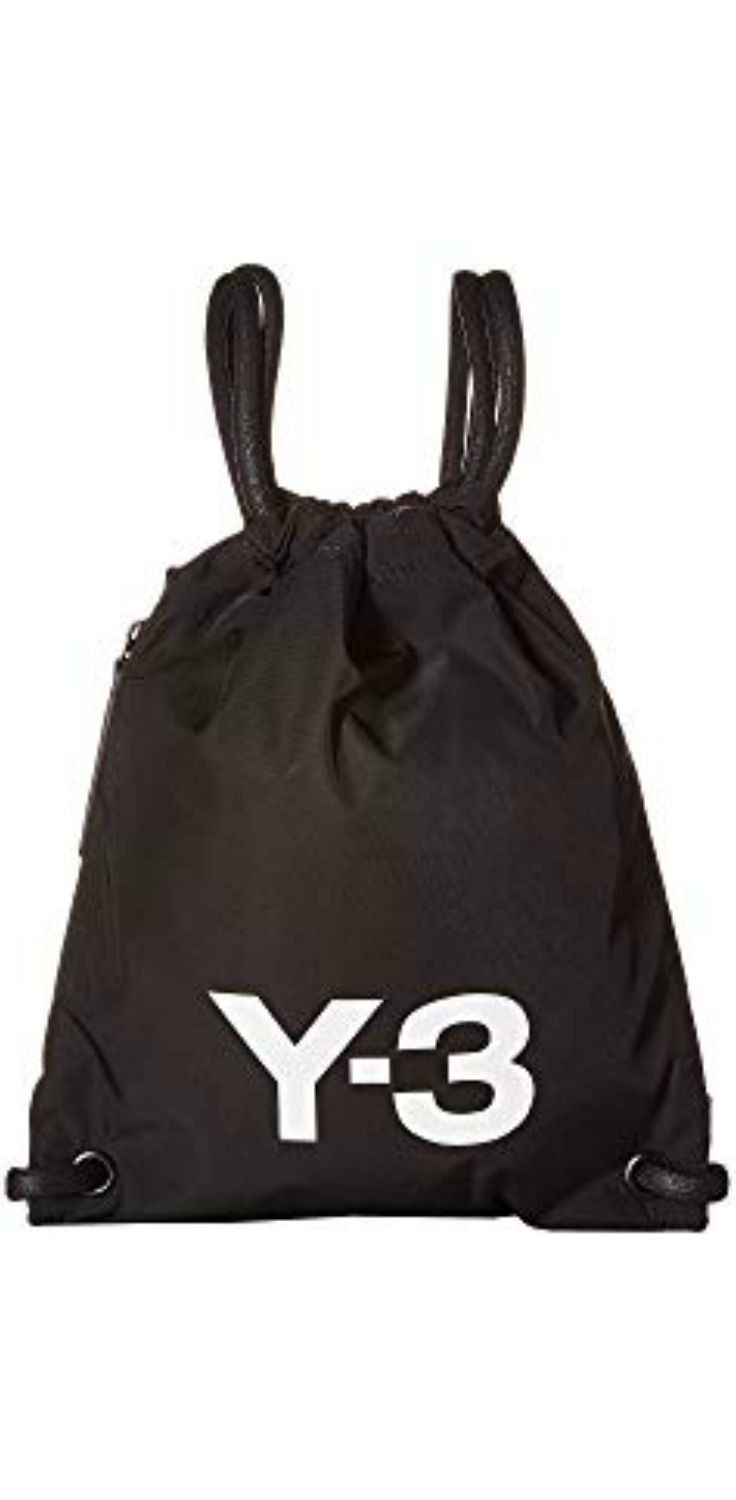 Achieve your goals with the exciting essential of the  adidas  Y3 by   YohjiYamamoto Y-3 Mini  Gym  Bag.  bags  backpacks b92518a8b9