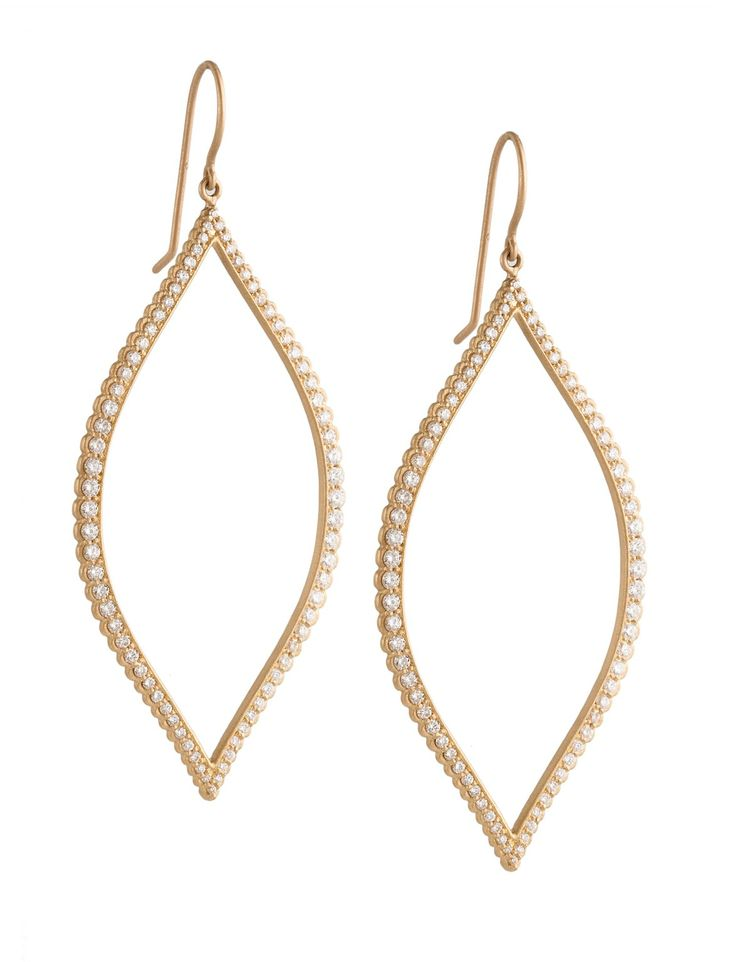 Jamie Wolf 18k Twisted Marquise Drop Earrings JzaNYgPk8o
