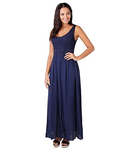 New KRISP Women's Casual Laser Cut Bust Summer Sleeveless Cotton Maxi Beach Dress online. Perfect on the Remelon Dresses from top store. Sku bohx24435mboz87766