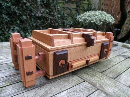 How To Make A Wooden Box With A Hidden Compartment