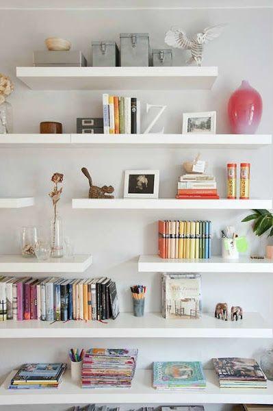 BALDAS, MUCHO MAS QUE SIMPLES ESTANTERIAS / Shelfs, are more than simples shelves