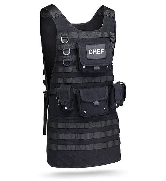 tactical bbq apron a necessity for any chefs grilling arsenal - Best Gift For A Chef
