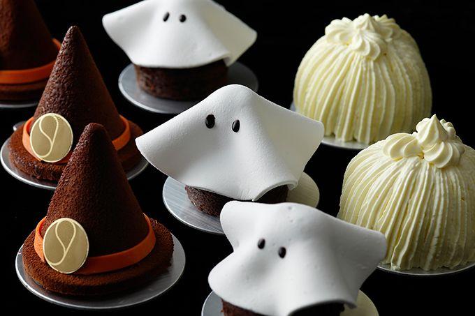 パレスホテル東京のハロウィーンスイーツ - 魔女の帽子ケーキや、マシュマロのお化けなど | ニュース - ファッションプレス