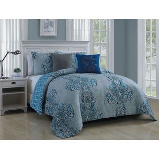 Gabriella 5 Piece Comforter Set By Avondale Manor   The Gabriella 5 Piece  Comforter Set By Avondale Manor Combines Vivid Patterns And An Eye Pleasing  Color ...