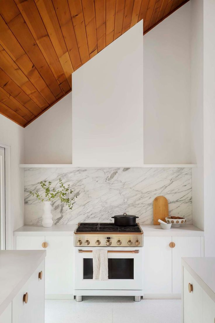 8 White Kitchen Cabinet Ideas You Can T Call Vanilla In 2020 White Marble Kitchen White Ikea Kitchen Minimalist Kitchen Design