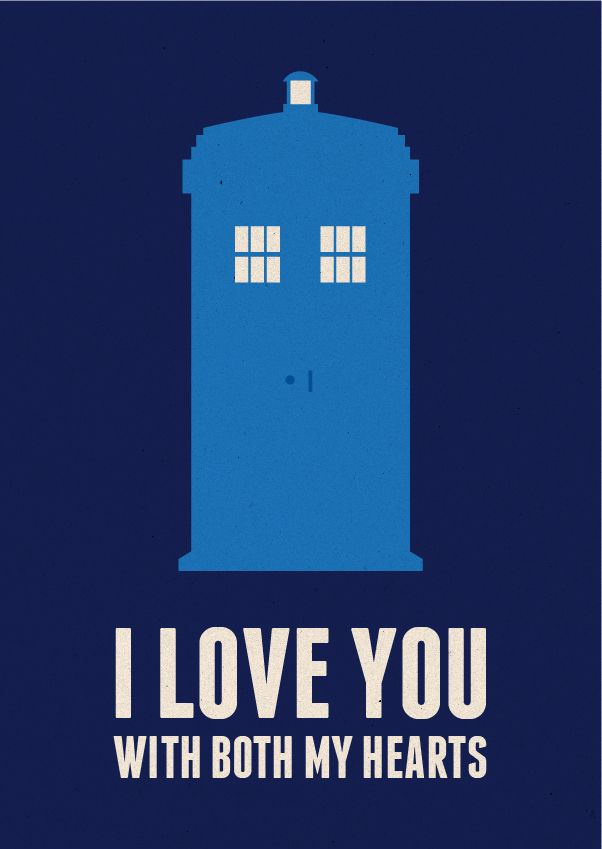 Clever sci-fi Valentine's Day cards