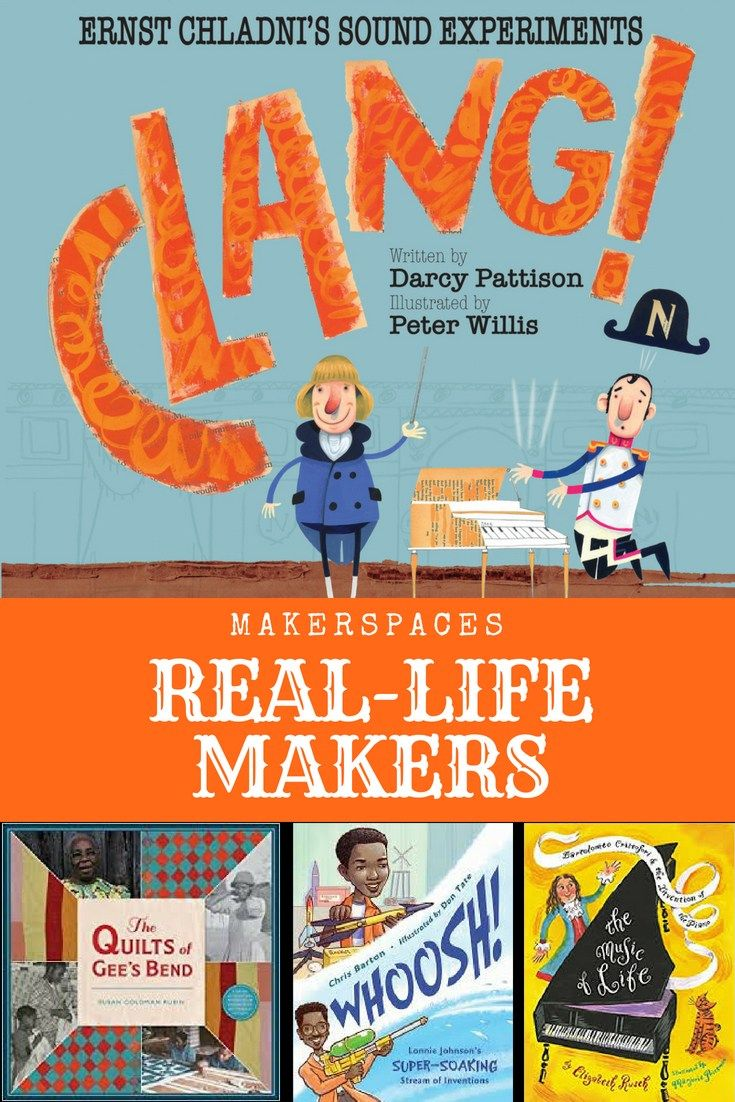 Makerspace Books Real Life Makers Jump Into A Book Kidlit