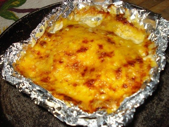 Запеченное куриное филе под сырной корочкой