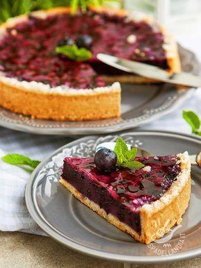 Tart cranberry cream - Una colazione che si rispetti non è tale se sulla tavola non ci aspetta un dolce sfizioso. Che ne dite di cimentarvi nella Crostata alla crema di mirtilli?