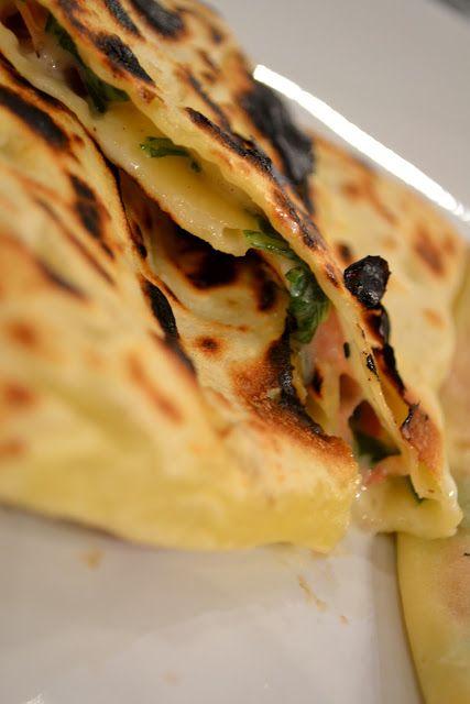 Mhajebs..Il pane marocchino farcito
