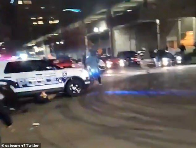 Shocking Moment Tacoma Police Cruiser Runs Over A Person At Intersection In 2021 Police Cars Police Tacoma