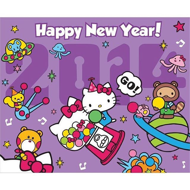 happy new year everyone picture credit to sanrio hello kitty
