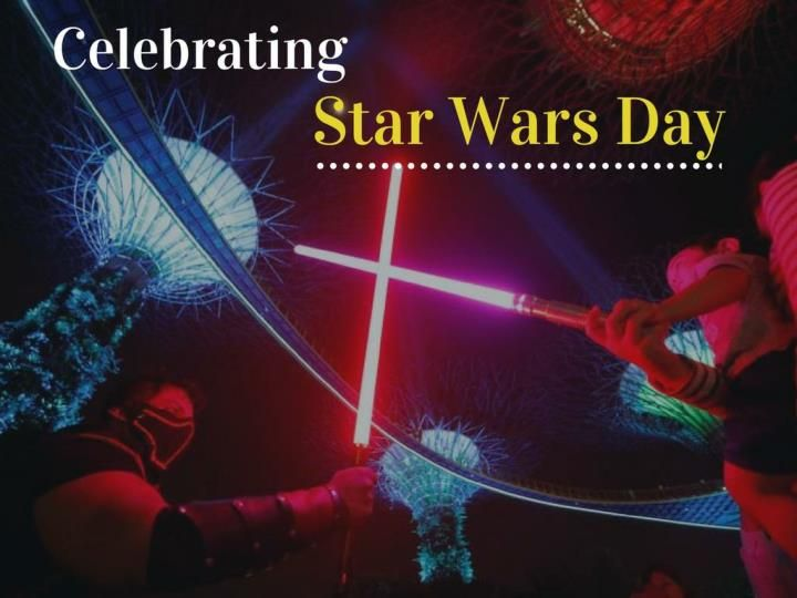 Fans around the world celebrate Star Wars day on May the 4th.