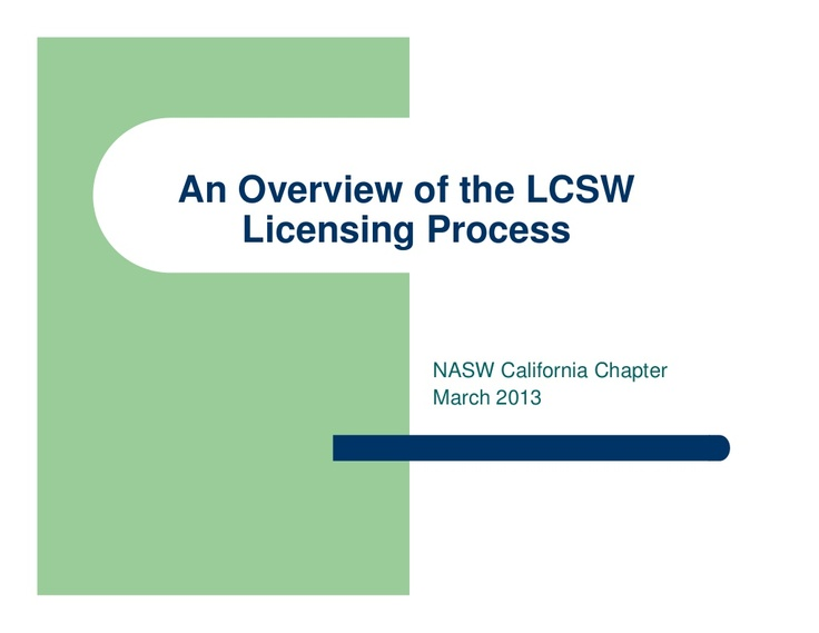 social work licensing exam prep Here is an audio recorded sample of our live social work licensure exam prep training to follow along with our clinical social worker exam preparation.
