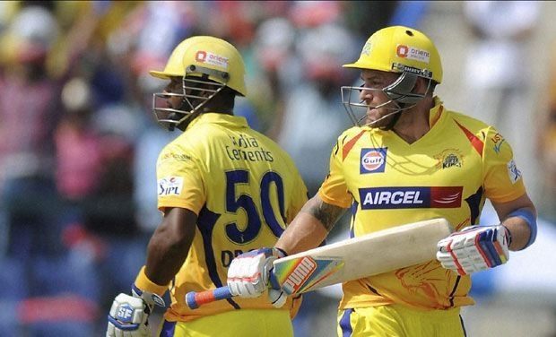 Chennai Super Kings' great openers...