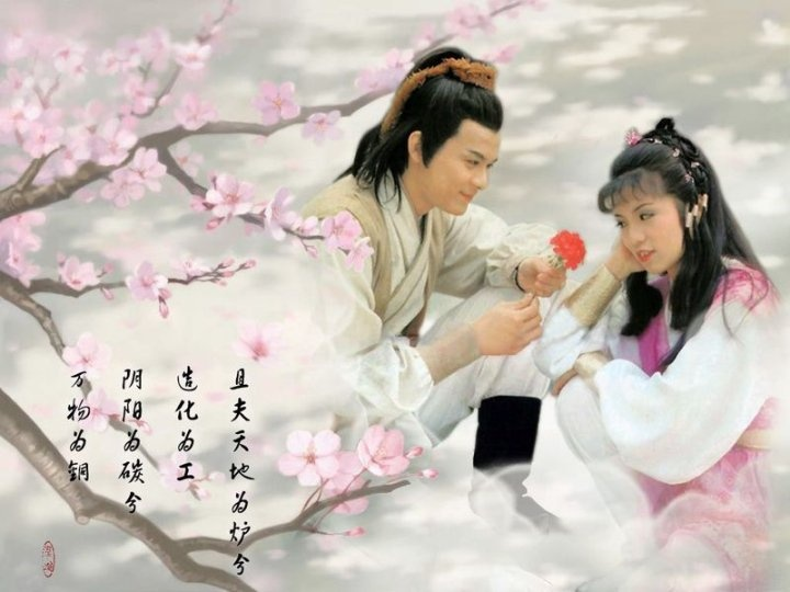 Quach Tinh & Hoang Dung (The Legend of the Condor Heroes)