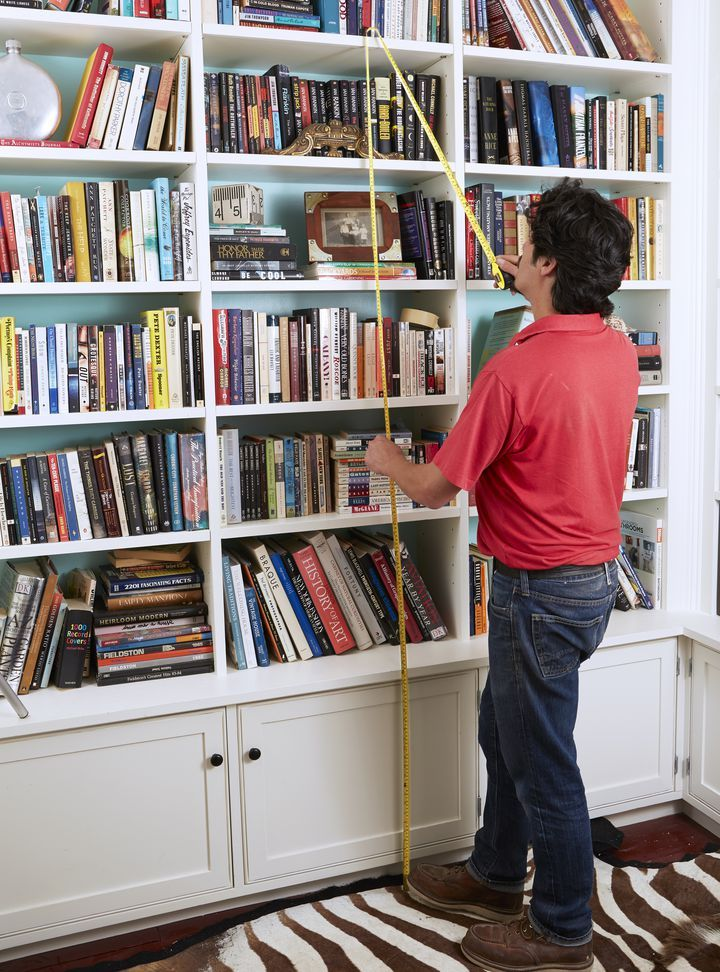 How to build a rolling library ladder buch wand