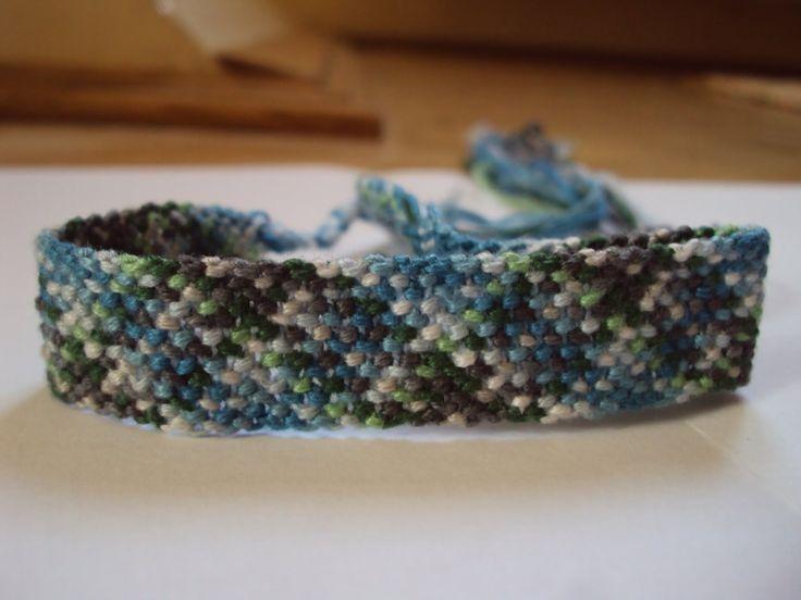 plaid bracelet new edition:))