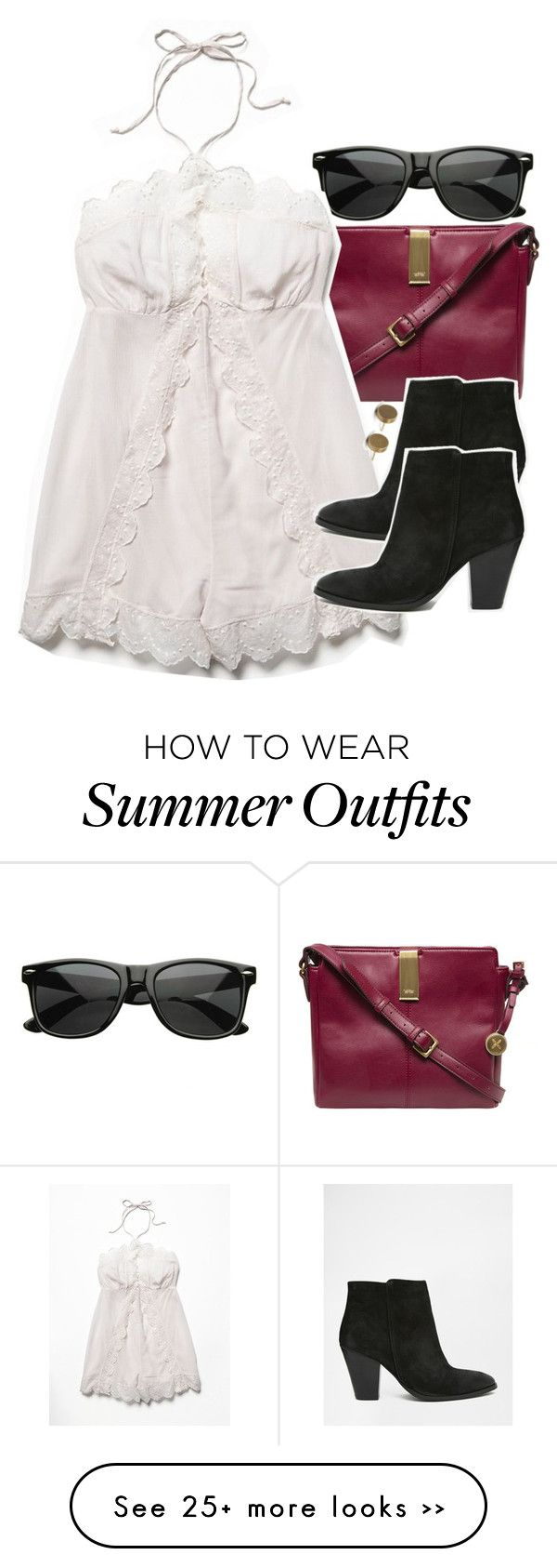 """""""Allison Inspired Summer Barbecue Outfit"""" by veterization on Polyvore"""