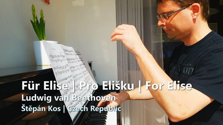 Für Elise - Beethoven | For Elise | Pro Elišku | Bagatelle No. 25 | Pian...