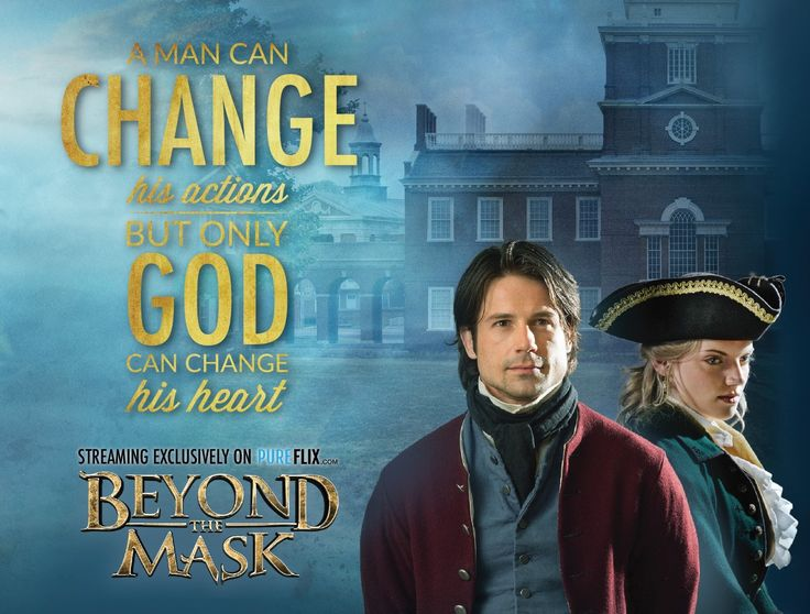 Jesus is the only one who can truly change your heart! Watch Beyond the Mask FREE with a one-month trial of #PureFlix!