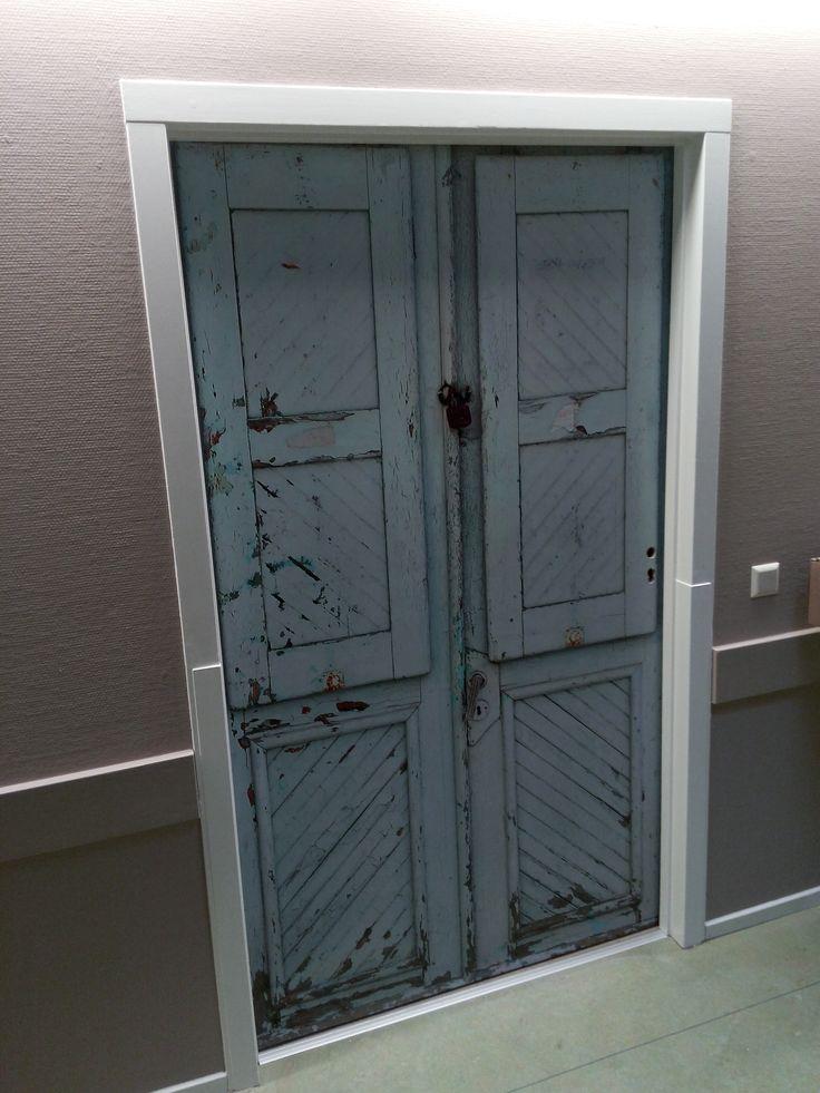 In korte tijd zonder stank of overlast je deur opgeknapt!