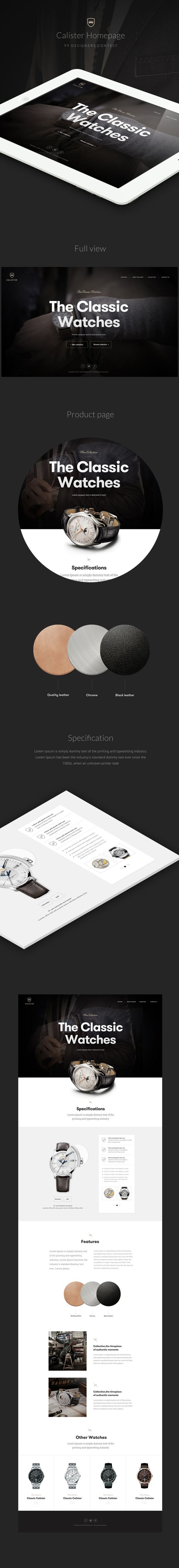 http://www.webdesignserved.com/gallery/Calister-watches/18686163