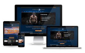 Fitness Club - www.fitnessclubjuzanka.sk #fitnessclub #webdesign