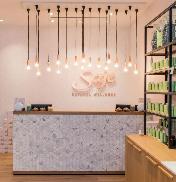 saje natural wellness by jennifer dunn design halifax nova scotia canada retail - Beauty Salon Design Ideas