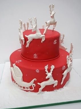 GORGEOUS Christmas CAKE № 2