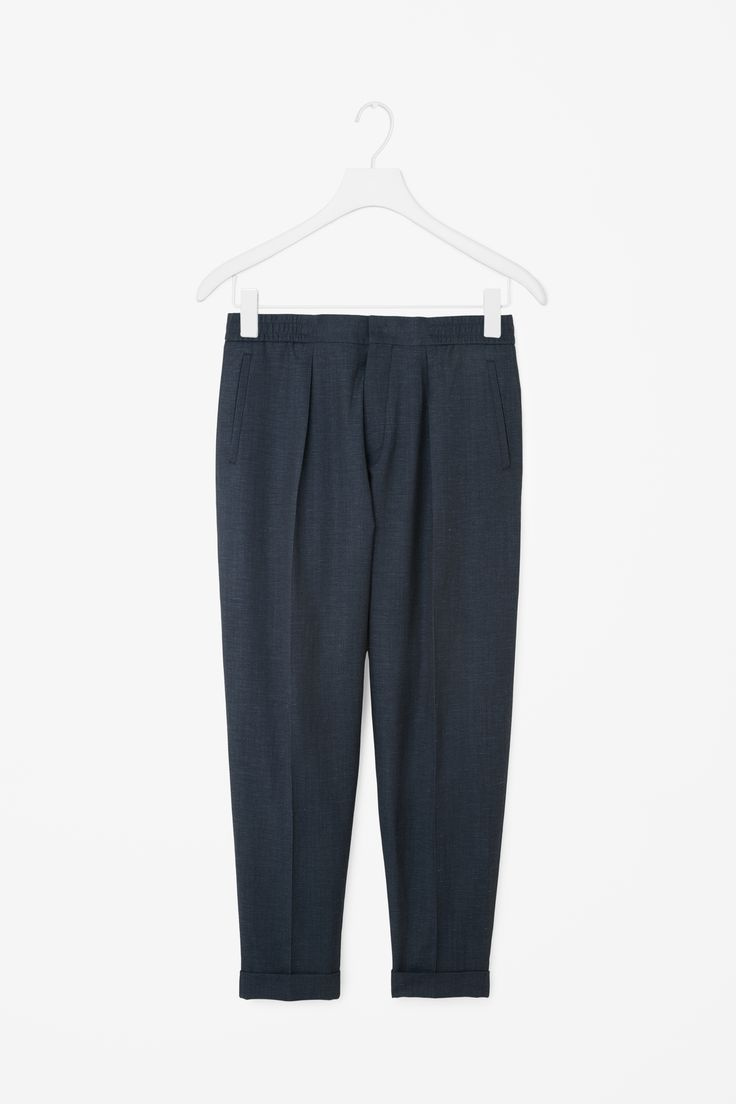 COS | Relaxed turn-up trousers