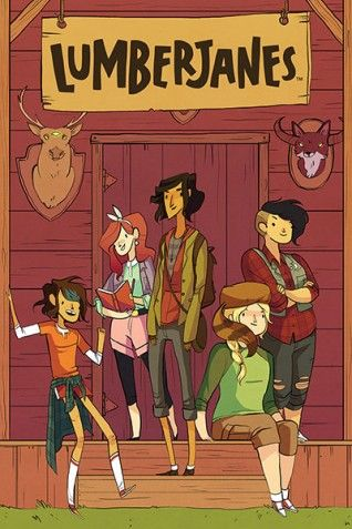 """Lumberjanes has been described as """"Buffy the Vampire Slayer meets Gravity Falls."""" The female-created comic follows five best friends spending the summer at a scout camp where they encounter a variety of mythical creatures, from yetis to giant falcons. Eight issues of an ongoing series have been released so far, making a set of them the perfect gift to give to your own BFFs while you curl up beside the fire and plan your own adventures."""