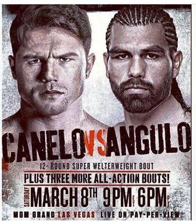 Canelo Angulo Tickets