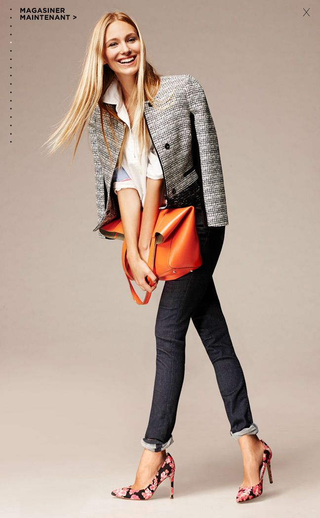 Love an easy outfit! #wearegapinc BANANA REPUBLIC 2014 | M E G H A N ♠ M A C K E N Z I E
