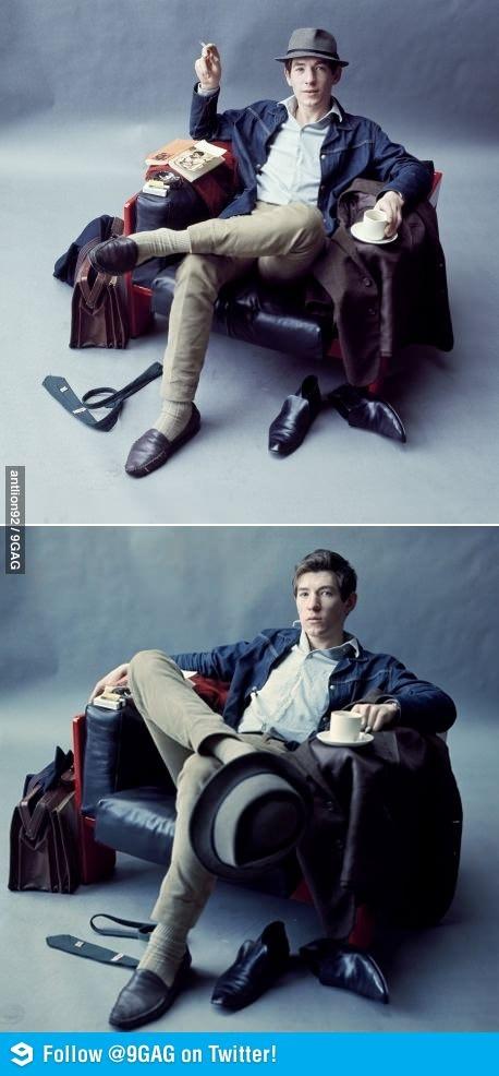 When Gandalf / Magneto / Ian McKellen was young.