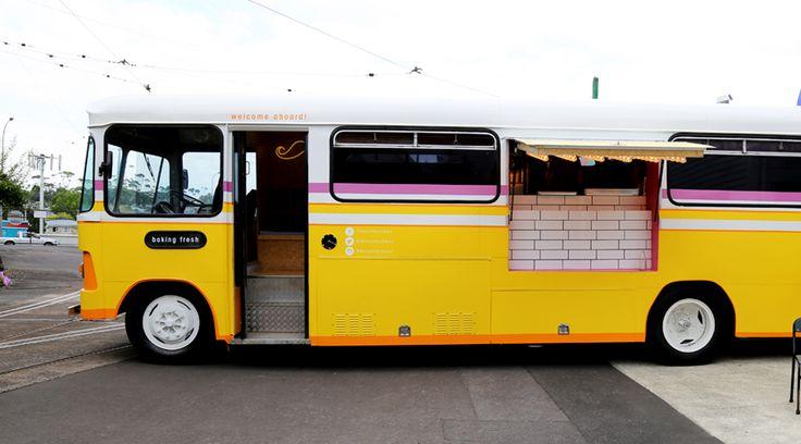 New Pop-Up: Moustache Milk & Cookie Bus