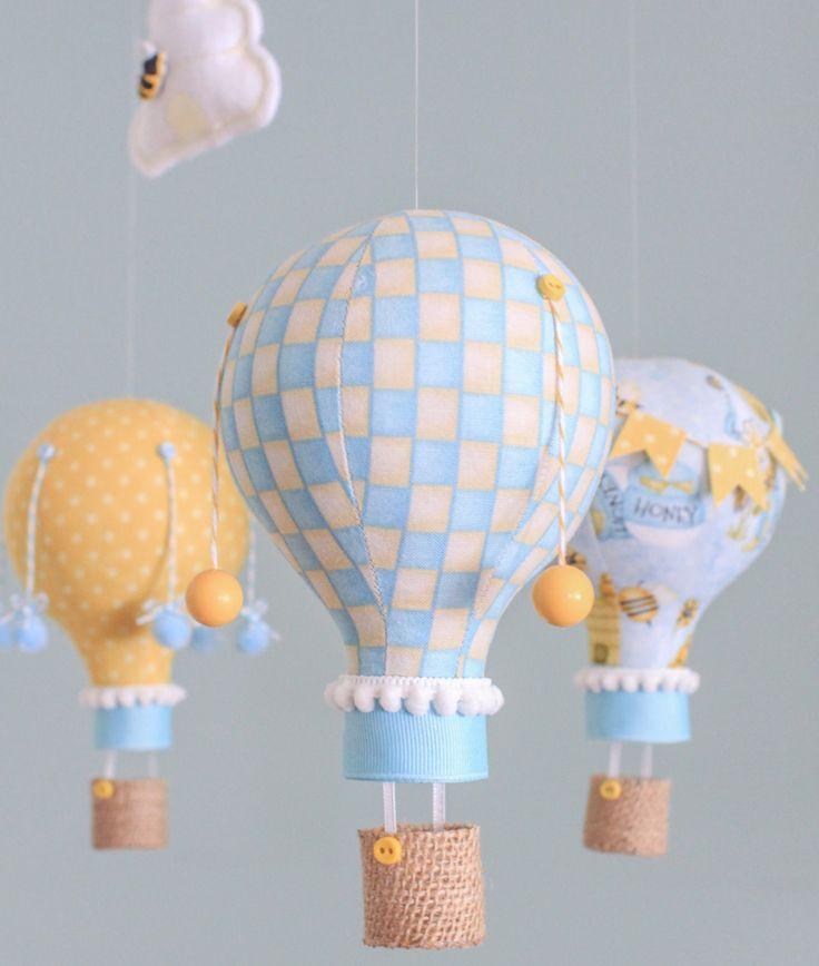 #riciclare le vecchie lampadine - mongolfiere