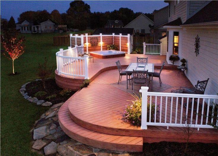 Creative Deck Design creative outdoor deck ideas — home designs