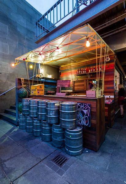 Ponyfish island bar , Melbourne