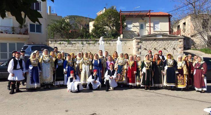 TRADITIONAL COSTUMES-AVLONAS ATTICA-Carnival 2016-Avlonas. all rights reserved