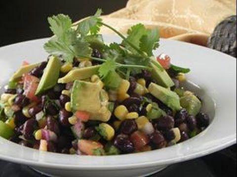 Ensalada de Frijoles Negros - Black Beans Salad - NuestraCasa2013 - YouTube