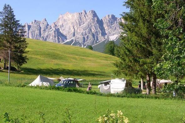 Camping Rocchetta in Cortina d'Ampezzo   Italië - ACSI