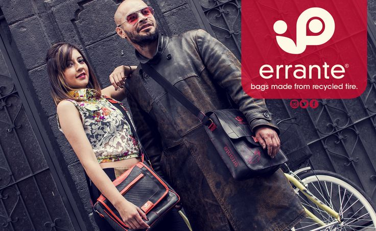 errante is an eco-friendly company; dedicated to recycling truck tires and plastic material for preparation of handbags, belts, backpacks, wallets, shoes and other accessories; Contributing to the preservation of the environment. Pasto - Nariño - Colombia Calle 14 # 25 -56 Tel: (572) 7361497 - 313 559 85 05
