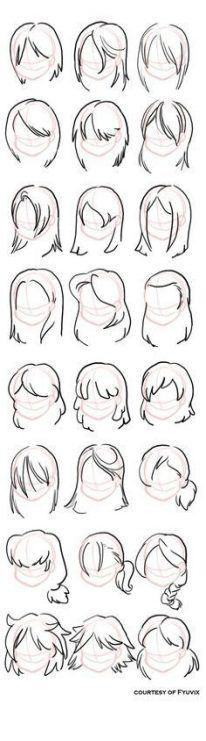 Hair Drawing Ideas Girl 32 Ideas For 2019