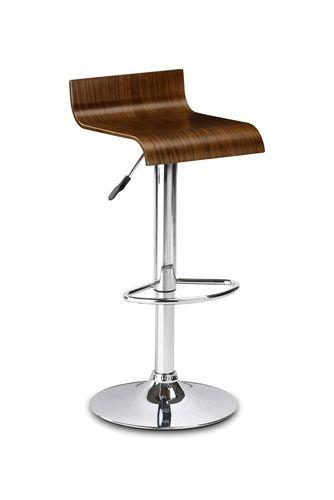 stratos bar stool, walnut bar stool, bar stool ireland, modern bar stool, contemporary bar stool