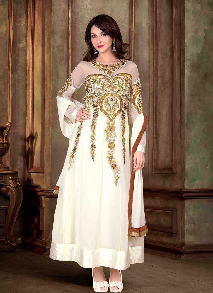 Indian Anarkali Kameez Salwar Ethnic Dress Designer New Pakistani Suit Bollywood #KriyaCreation #Designer