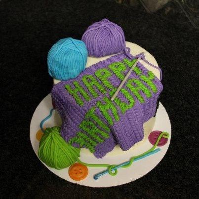 Happy Birthday Stitch Cake