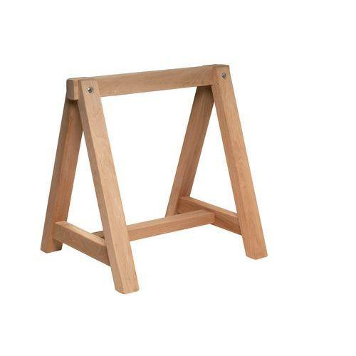 Caballete de madera - Fijo